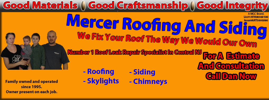 Mercer County commercial roofing specialist logo